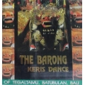 The Barong Kris Dance - Tegaltamu, Batubulan