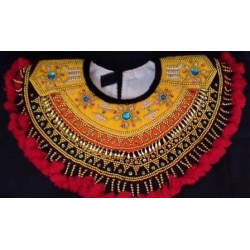 Badong Kain Gambuh Besar (beaded collar for gambuh dance)