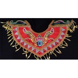 Badong Kain Modifikasi (beaded collar)