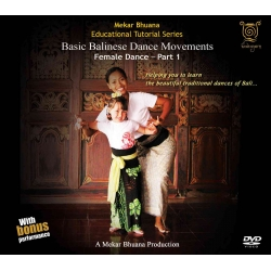 Basic Balinese Dance Movements - Female Dance Part 1