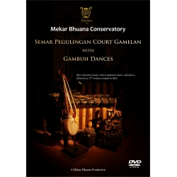 Mekar Bhuana Semar Pegulingan Court Gamelan with Gambuh Dances